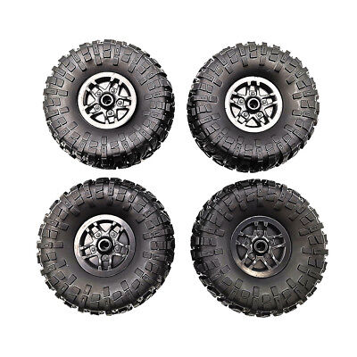 4pcs 1//12 RC Drift Racing Car Rubber Tires Tyres /& Wheels For D90 MN90 MN91