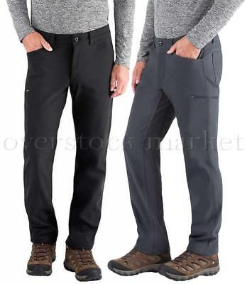 NEW BC Clothing Expedition Men/'s Softshell Pants Variety