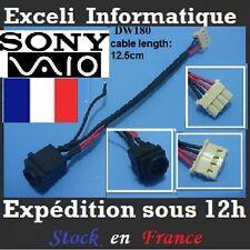 Conector de alimentación dc jack alambre cable DW180 SONY VAIO VPCEH1AFX/B