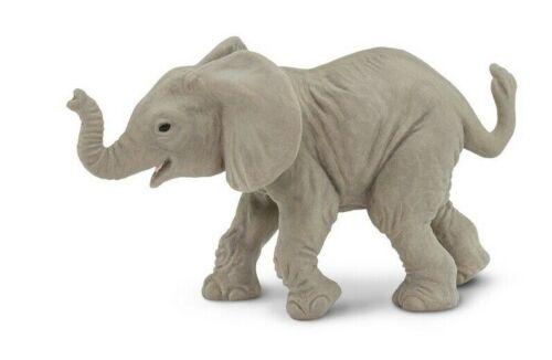 Safari LTD 270129 africano ELEFANTI Baby 8 cm Serie Animali Selvatici