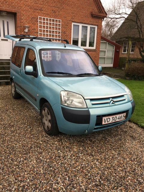 Citroën Berlingo, 1,6i 16V Multispace, Benzin, 2002,…