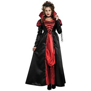 Image is loading Transylvanian-V&iress-V&ire-Costume-Halloween -Fancy-Dress  sc 1 st  eBay & Transylvanian Vampiress Vampire Costume Halloween Fancy Dress | eBay