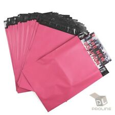 100 Poly Mailers 12x155 Shipping Bags Plastic Packaging Mailing Envelope Pink