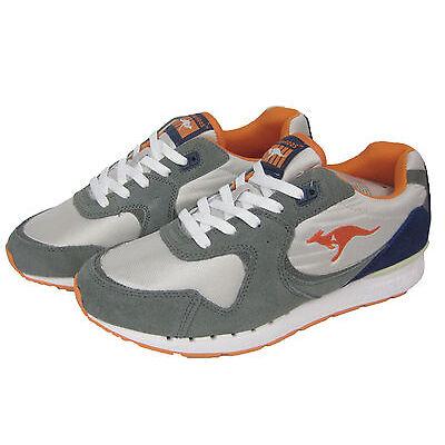 KangaROOS Herren Schuh Sneaker Laufschuh Low Coil-R2 grau / orange