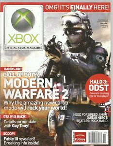 Official XBOX Magazine - Issue 102 (November 2009) CALL OF DUTY MODERN WARFARE 2