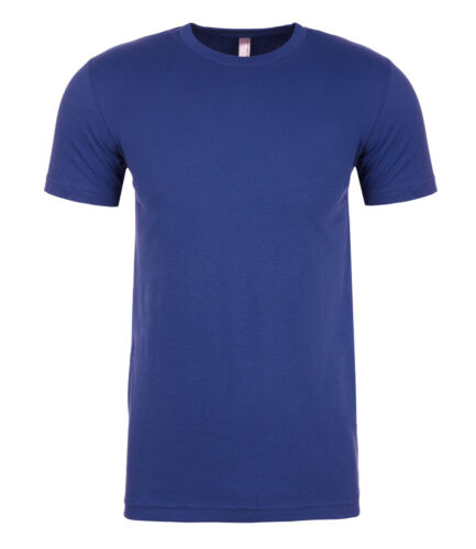 Mens Unisex Next Level Soft Feel Cotton Blend Sueded Crew Tee Tshirt T-Shirt