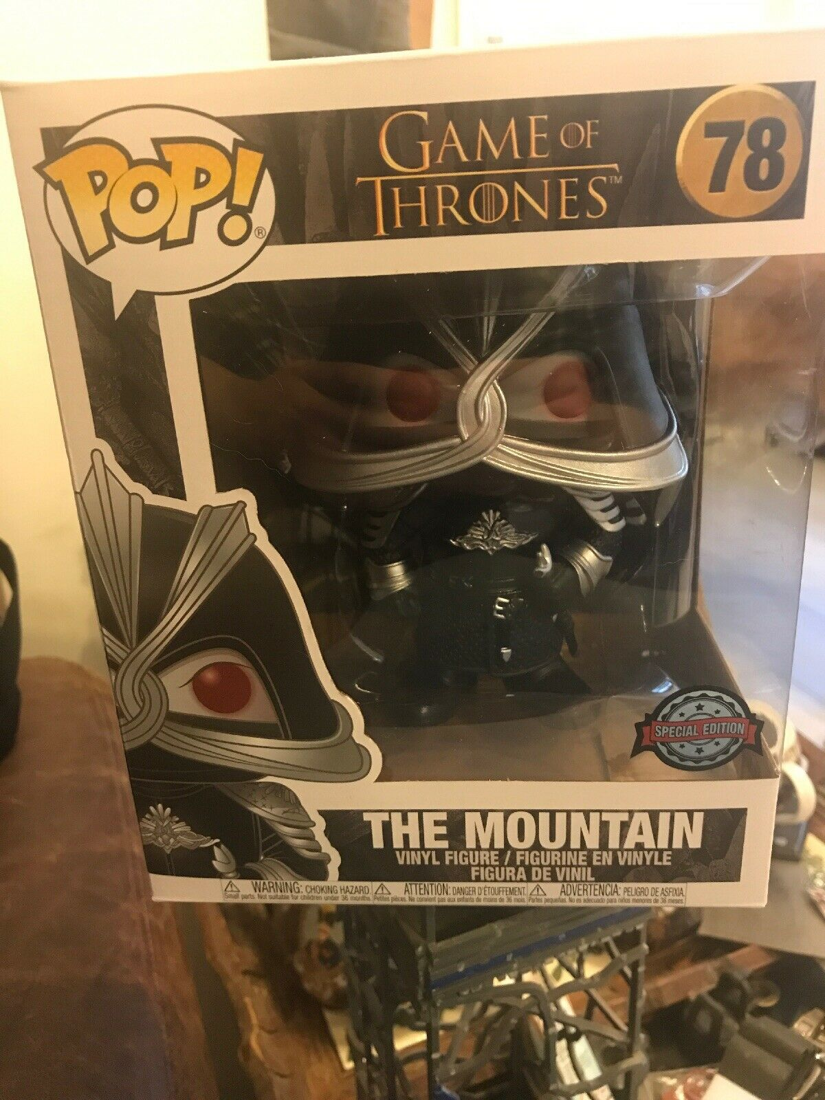 Funko Pop Vinyl  The Mountain, Game Of Thrones Special Edition