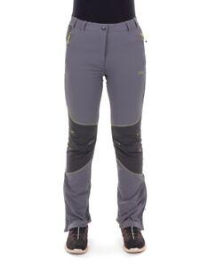 CMP Multi-Sporthose Funktionshose grau Stretch UV-Schutz wärmend