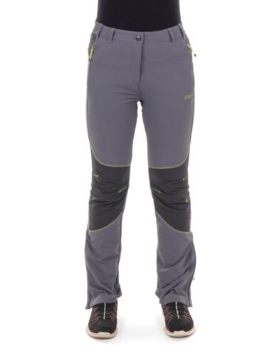 CMP Multi Sport Pants Functional Pants Grey Stretch UV Protection Warming