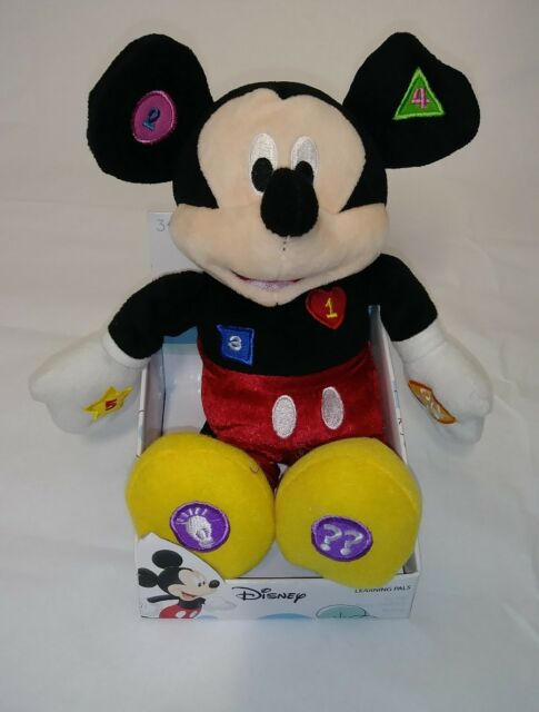 Disney Mickey Mouse Clubhouse Learning Pals Plush Toy for ...