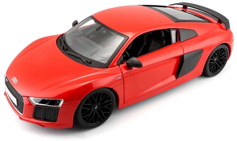 Maisto 1  18 Audi R8 V10 Orange Diecast Model Racing voiture Vehicle Toy nouveau IN BOX  tout en haute qualité et prix bas