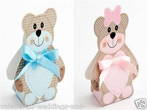 Details Zu Luxus Baby Taufe Boxen Selbermachen Teddybär Dusche Mädchen Jungen Ehe Geschenk