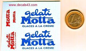 decalque decalcomanie deco glace gelati motta pour citroen hy type h 1/43