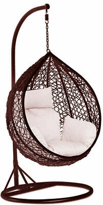 Rattan Amazing Outdoor Garden Hanging Egg Chair Relaxing Patio