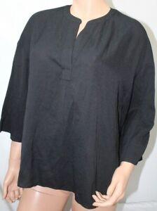 Banana Republic  Women's Blouse Top Size Medium Black NWT