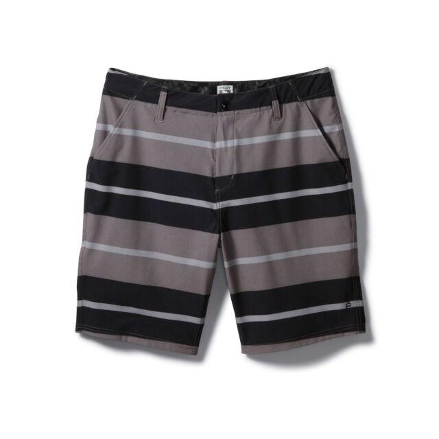 2be866440a Oakley Men's Zulu Short Hybrid Water Walk Beach Shorts Grigio Scuro Size 32  34