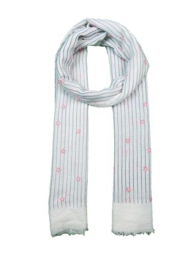 Tiny Stars Print Summer Scarf Sarong  Soft scarf Pink Blue Grey White