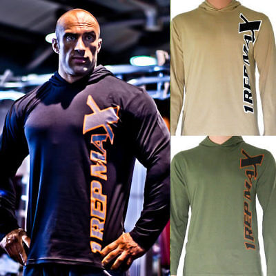 Olive Green Utili-Tee Bodybuilding Training Gym T-Shirt by 1 Rep Max