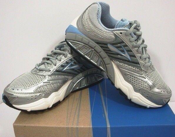 Brooks Women's Running Shoes Ariel Gray Blue Silver 120045 1B 499 New In Box 6