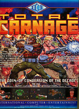 "Total Carnage ""Coin-Op Conversion"" 1994 Magazine Advert #5723"