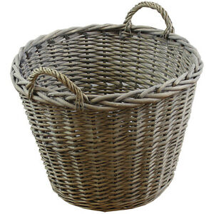 JVL-Chunky-Willow-Large-Thick-Round-Basket-with-Handles-50-x-47cm