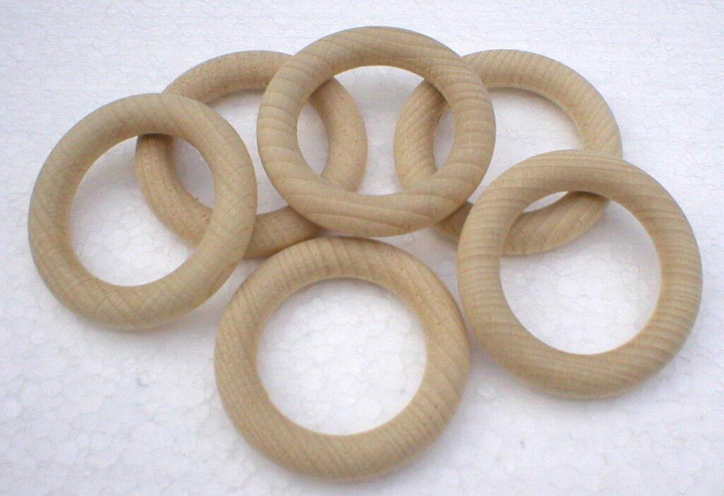 Holzringe Außen-Ø 55 mm x x x Material-Ø 9 mm Massivholz Buche natur | Online-verkauf  3a1ab5