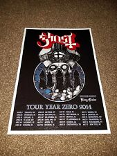 Ghost BC concert poster Year Zero Tour 2014 metal poster (Ghost BC) Death Metal
