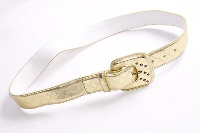 B35  Thin Ladies belt with studs//PU Leather//Pin buckle//Black /& White available