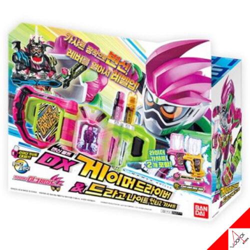 Bandai Masked Kamen Rider Ex-Aid DX GAMER DRIVER /& Drago Knight Hunter Z Gashat