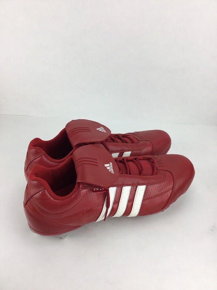 Adidas  Metal Baseball Cleats Red  Sz 16 EX 4.0 Cheap women's shoes women's shoes