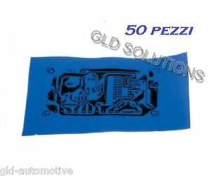 PELLICOLA BLU CS 50 PZ PRESS n PEEL Fogli Carta per Realizzare Circuiti Stampati