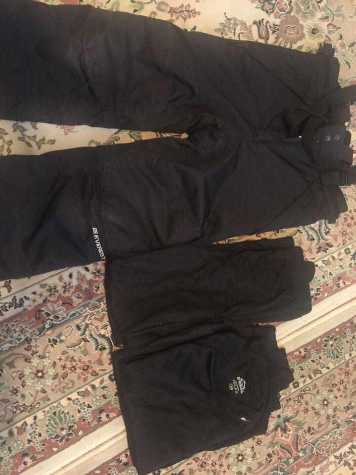 Bukser, Skibukser, ski undertøj