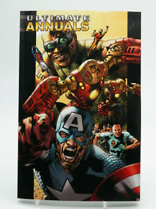 Ultimate Annuals Volume 1 Marvel Graphic Novel Used Free Shipping