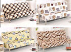 Floral Printed Removable Stretch Lounge Cover Sofa Bed Cover Slipcover Protector