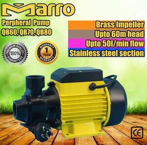 Electric-Peripheral-Pump-QB60-QB70-QB80-For-Clean-Water-Garden-Farm-Rain-Tank