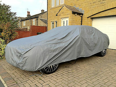 FOR FORD MUSTANG 1965-1973 HEAVY DUTY FULLY WATERPROOF CAR COVER COTTON LINED