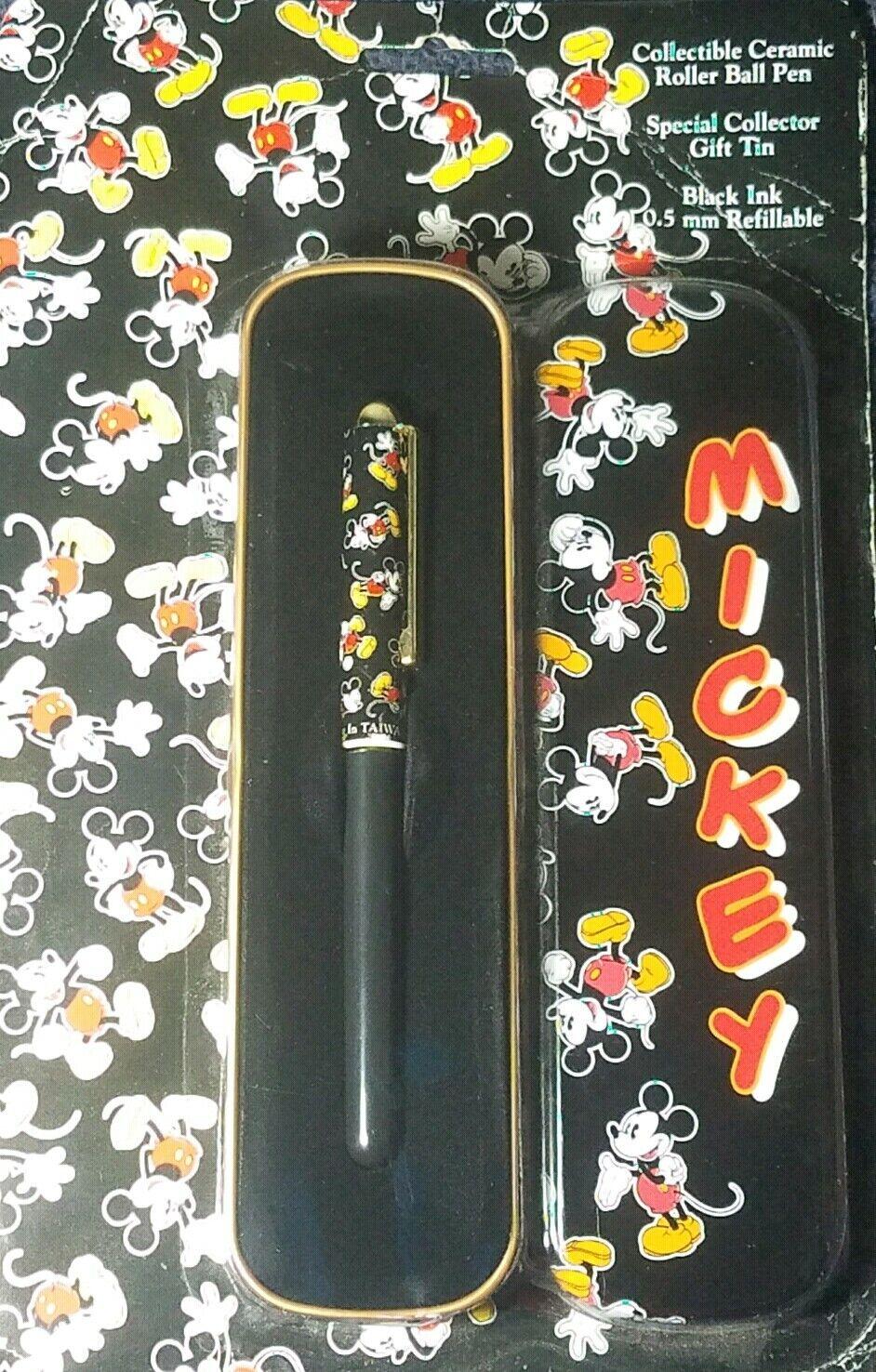 entrega rápida Papel De De De Mickey Regalo de cerámica de pluma de bola de rodillo Company Tin Vintage ReCochegable