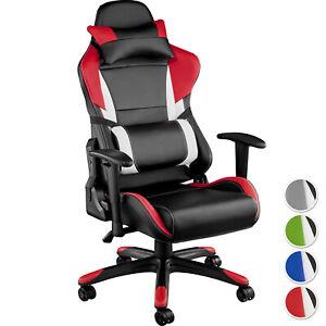 Silla Gaming Sillon de Oficina de Despacho Ergonomica Diseño Deportivo Moderno