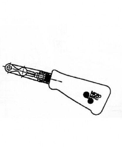 für Keg Hiwi und Micro Matic ERGO Handgriff schwarz Verschluss mit Logo