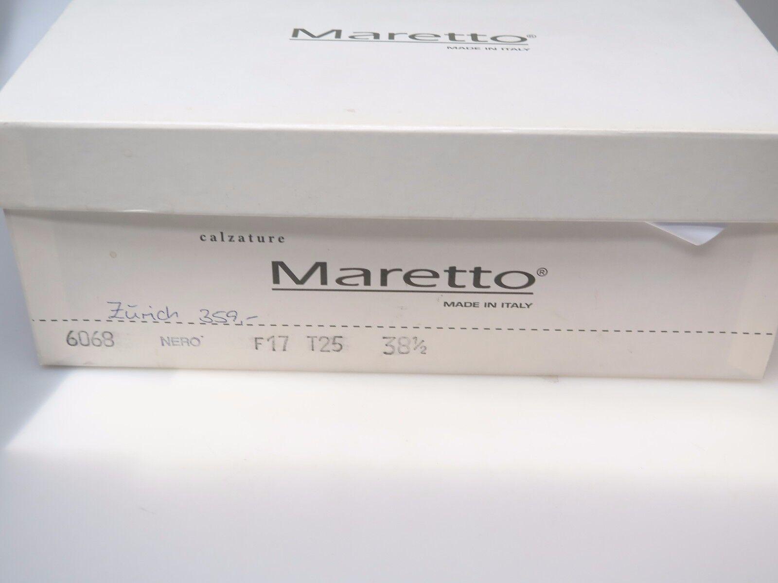 MARETTO Stiefel Italy Damenschuhe 6068 Zürich Stiefeletten Stiefel MARETTO Echtleder Gr 38 NEU bf2497