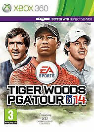 XBOX 360 TIGER WOODS PGA TOUR 14 (LOTS OF OTHER TITLES AVAILABLE IN STORE)