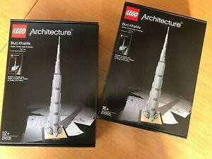 Sealed New Lego 21055 Architecture Burj Khalifa Ship from US Rare