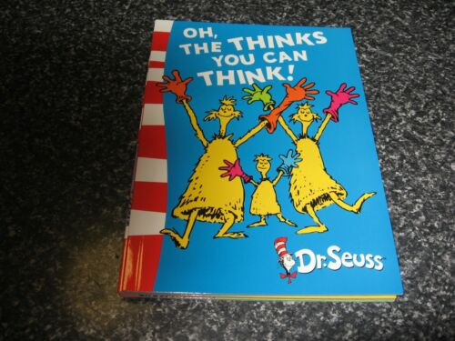 OH, THE THINKS YOU CAN THINK! BY DR SEUSS BRAND NEW SOFTCOVER