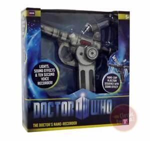 DOCTOR-WHO-MEDI-GUN-nano-voice-recorder-11th-dr-NEW-BOX