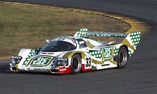 1988 Porsche 962C Tic Tac GTP Can-Am IMSA Vintage Classic Race Car Photo CA-0990