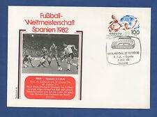 Orig.Ersttagsbrief  WM Spanien 1982  DEUTSCHLAND - SPANIEN / Spiel 44 (2.Runde)