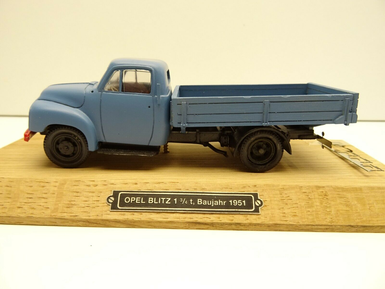 1 43 Gollwitzer 4301 Opel Blitz 1951 Zertifikat C4039 Handarbeitsodoll