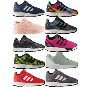 d5c96c992 Image is loading Adidas-Originals-Zx-Flux-Toddler-Boots-Trainers-Casual-