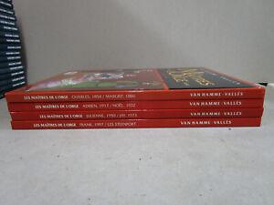 Les-Maitres-de-l-039-Orge-Van-Hamme-Valles-1-a-8-en-4-doubles-albums-France-Loisirs