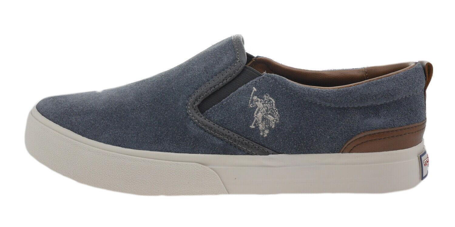 Us Polo 4208w6 Piper Suede Slippers Dark Grey 182124
